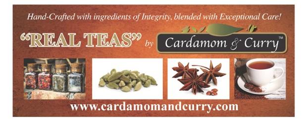 Cardamom and Curry Wellness Teas Banner